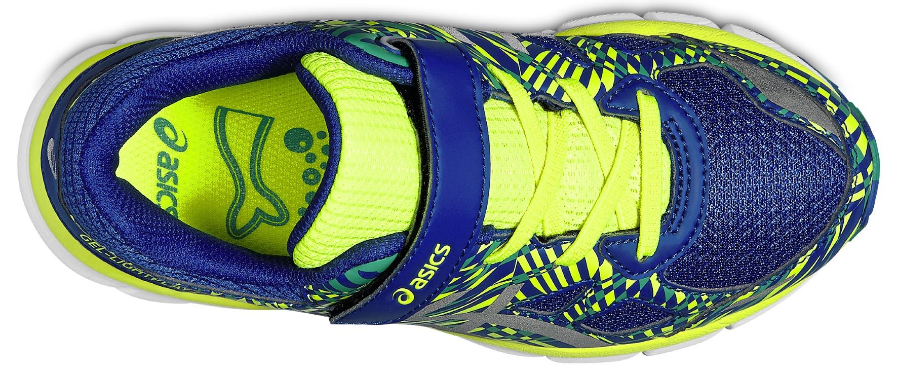 Детские беговые кроссовки Asics Gel-LightPlay 2 PS (C571N 4393) синие  фото
