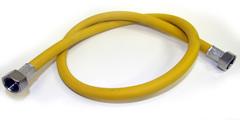 5,0 м. Шланг пвх для газовых плит TUBOFLEX (ГАЙКА-ГАЙКА)