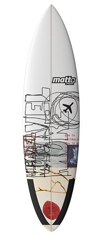 Серфборд Matta Shapes GRV - Gravy 6'6''