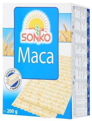 SONKO Маца традиционная 200 гр