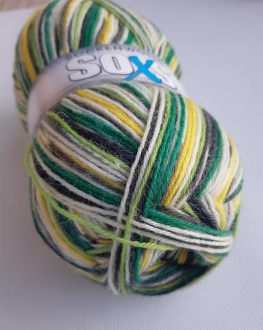 Купить пряжу для носков Sockenwolle Soxs 004
