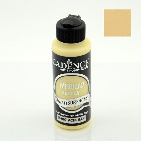 №07 Hybrid Acrylic, Светлый желтый, 70мл., Cadence