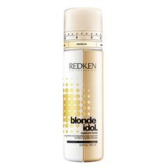 Redken Blonde Idol Custom Tone Golden - Кондиционер-Усилитель цвета теплых оттенков блонд 196 мл