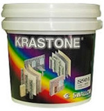 Краска KRASTONE мозаичная M 4л