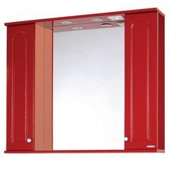 Зеркало-шкаф SanMaria Венге-100 красный