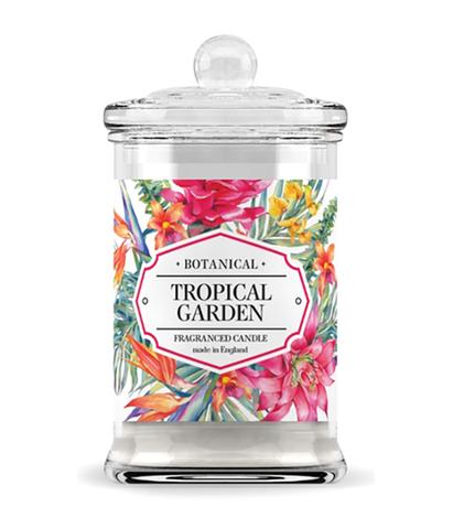 Свеча ароматическая в стекле Тропический сад, Bago home