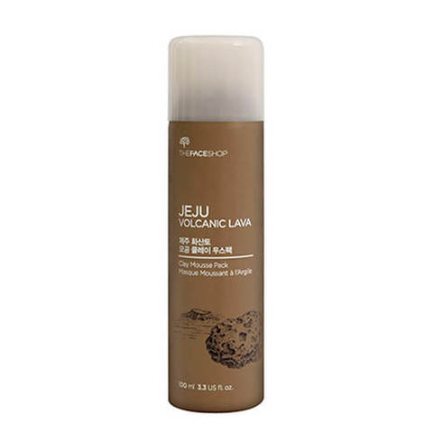 THE FACE SHOP Глиняная маска для лица Jeju Volcanic Clay Mousse Pack (100мл)