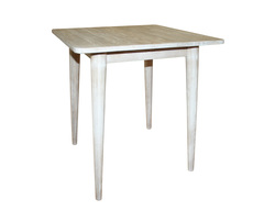 Стол обеденный с круглыми ножками