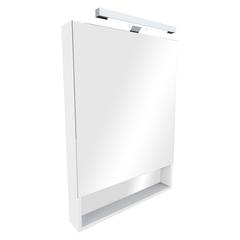Зеркальный шкаф Roca The Gap 80cm (белый) ZRU9302750