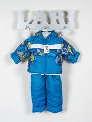 Костюм Кроха курточка + полукомбинезон (темно синий/рис.(космос) 68-74 см