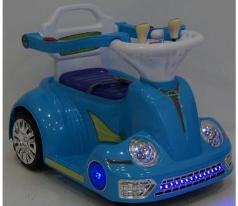 Детский электромобиль-ходунок Rivertoys 1688 голубой