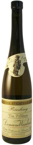 Вино Рислинг Кюве Сэнт Катрин геог. наим. белое п/сух. 0,75 л  13,5% Франция