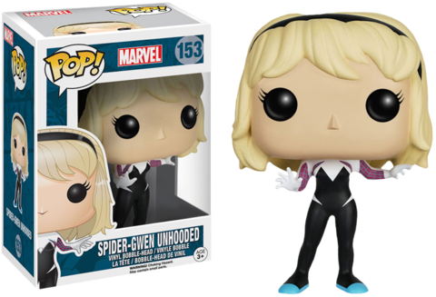 Фигурка Funko Pop! Marvel: Spider-Gwen Unhooded (Excl. to Hot Topic)
