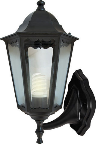 Светильник садово-парковый, 100W 230V E27 черный, 6201 (Feron)