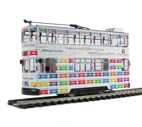 BACHMANN CHINA CE00604 Двухэтажный трамвай «Icons Of Hong Kong», H0