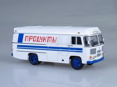 PAZ-3742 Refrigerator Foods Soviet Bus 1:43