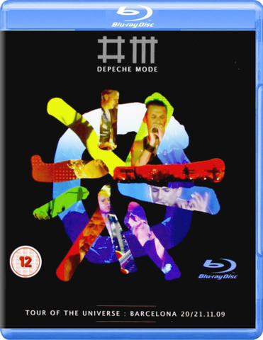 Depeche Mode ‎/ Tour Of The Universe : Barcelona 20/21.11.09 (2Blu-ray)