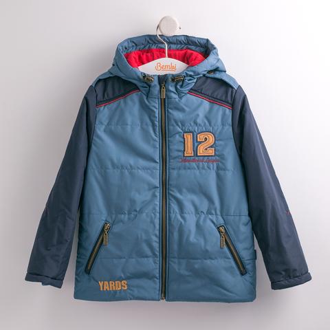 КТ137 Куртка для мальчика утепленная