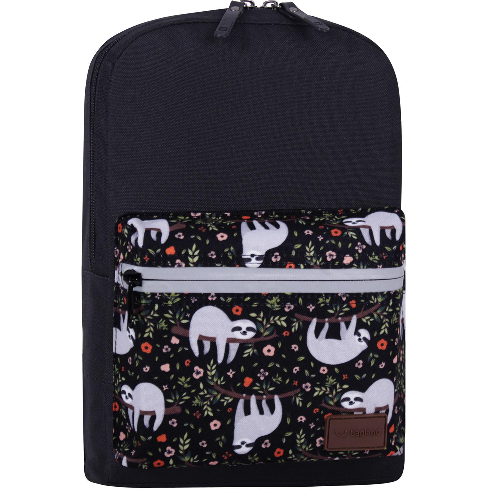 Детские рюкзаки Рюкзак Bagland Молодежный mini 8 л. черный 743 (0050866) IMG_7714_суб743_-1600.jpg