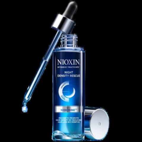 Ночная сыворотка для увеличения густоты волос,Nioxin, 70 мл