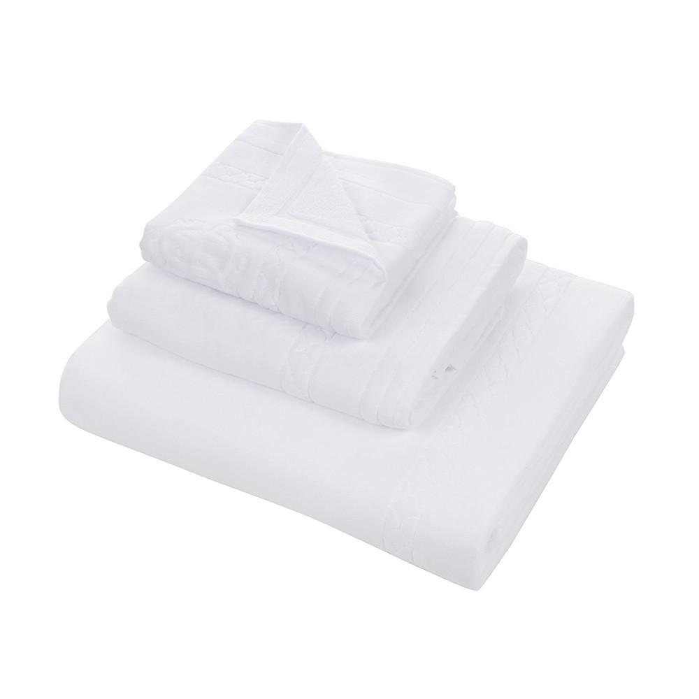 Набор полотенец 3 шт Roberto Cavalli Venezia белый