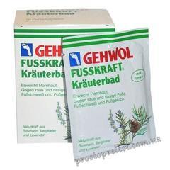 Gehwol Fusskraft Frauterbad - Травяная ванна