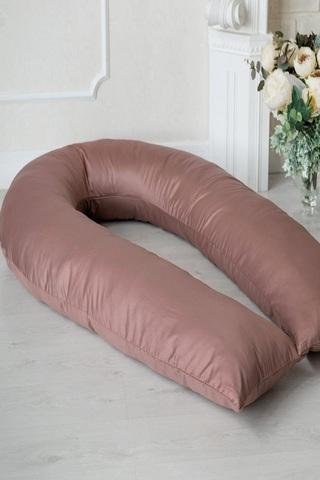 Наволочка на подушку U360 (сатин) 10262 шоколад