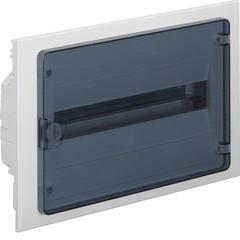 Щит скрытой установки, 18М, с прозрачной дверцей
