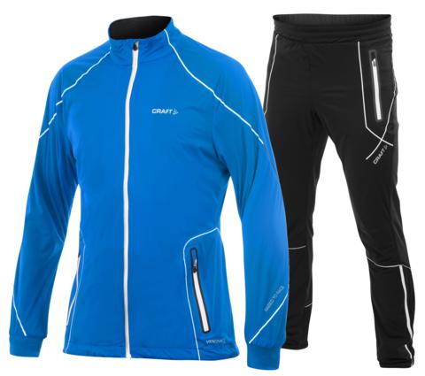 CRAFT HIGH FUNCTION мужской лыжный костюм синий