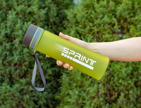 Бутылка POWCAN - 1000 мл. SPRINT матовая - Салатовый
