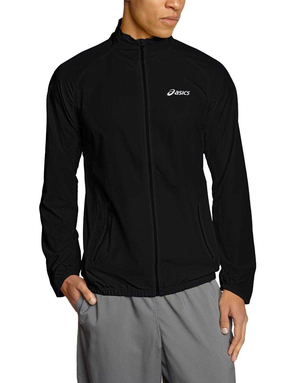 Мужская ветровка Asics Woven Jacket black (110411 0904) фото