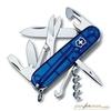 Нож перочинный Victorinox Climber 91мм 14 функций прозрачный синий (1.3703.T2) нож перочинный victorinox swisschamp 1 6794 69 91мм 29 функций твердая древесина