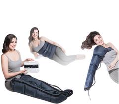 Аппарат для прессотерапии лимфодренажа LХ7 + манжеты для ног + пояс для похудения + манжета на руку