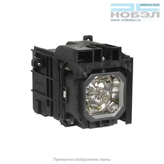 Лампа в корпусе для проектора Lamp Nec NP1150; NP2150; NP3150; NP3151; NP3151w; 60002234 (NP-06LP) собрана в ламповый модуль