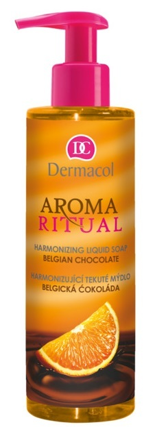 Dermacol Aroma Ritual Harmonizing Belgian chocolate with orange