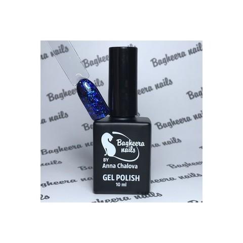 Bagheera Nails BN-73 глубокий синий опал гель-лак 10 мл