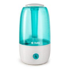Увлажнитель воздуха ультразвуковой 23 Вт, 2,5 л DELTA DL-2600 белый с зеленым
