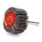 Круг MESSER шлифовальный лепестковый с оправкой (на шпильке) 40х20х6  #120
