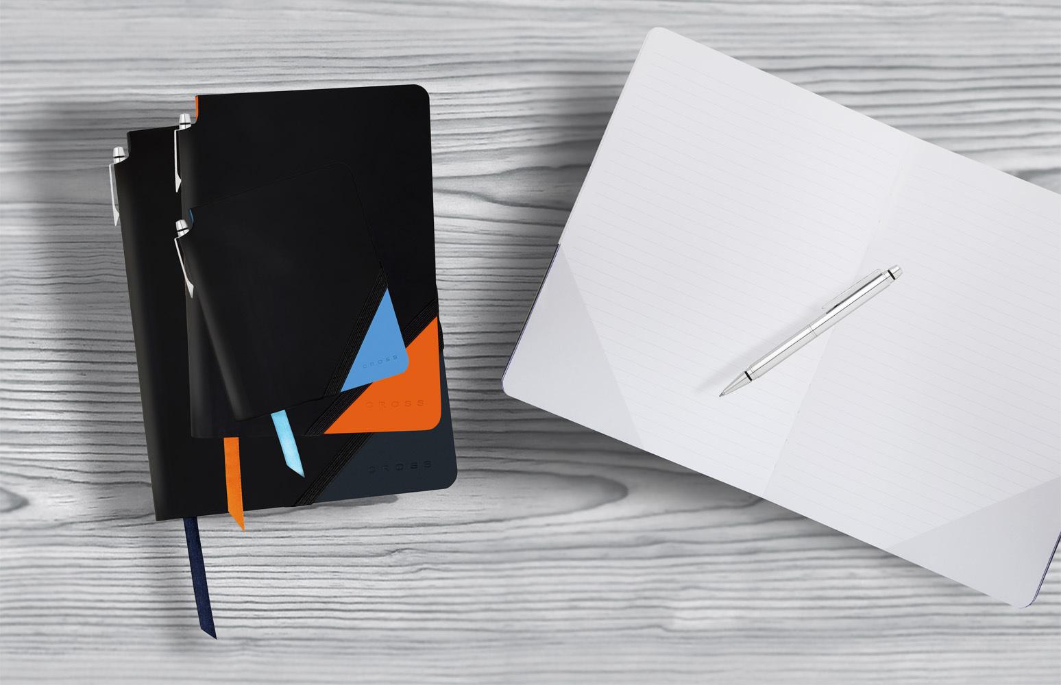 Записная книжка Cross Jot Zone, малая, 160 страниц в линейку, ручка в комплекте