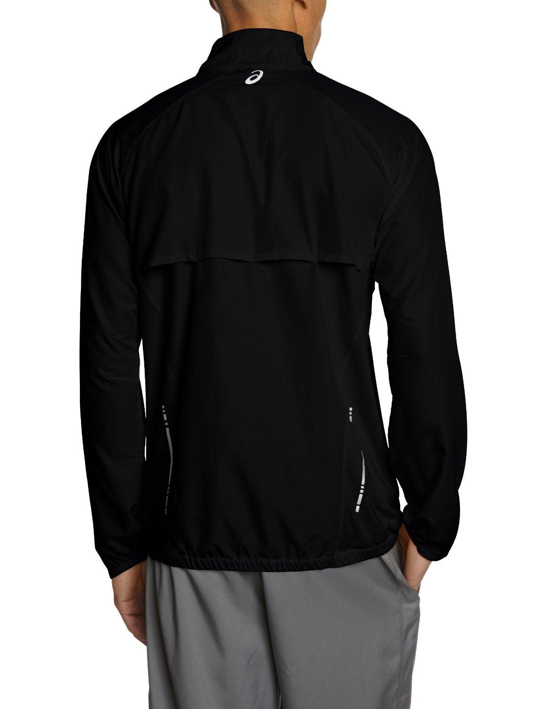 Мужская ветровка Asics Woven Jacket black (110411 0904) черная