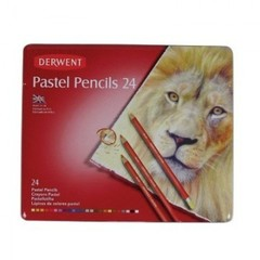 Набор карандашей пастельных Derwent Pastel 24шт мет короб 32992