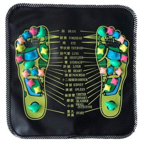 Массажный коврик для ног Foot Massage Mat (35*35 см)