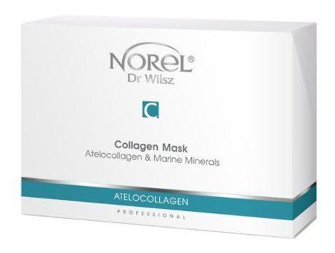 *Увлажняющая и разглаживающая морщины коллагеновая маска для лица(Norel/14шт/PN 012)