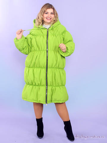 Утеплённое пальто Малибу