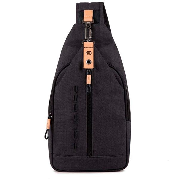 Рюкзак на одно плечо Piquadro Blade CA4536BL/N, black