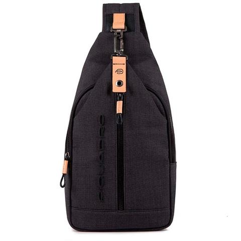 Рюкзак на одно плечо Piquadro Blade CA4536BL/N, black, фото 2