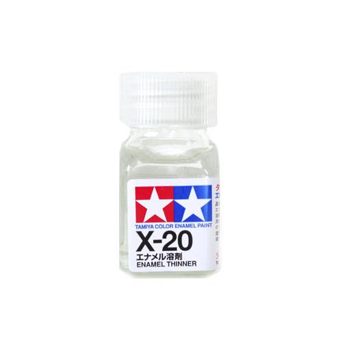 X-20 Tamiya Растворитель для Эмалей (Enamel Thinner) 10мл