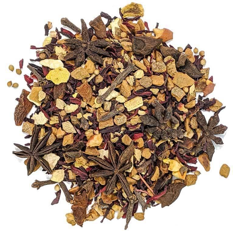 """Ароматизированный фруктовый, травяной, ягодный чай """"Глинтвейн"""" чай со специями и фруктами, 100 гр GlintveynTS.jpg"""