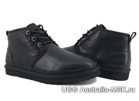 UGG Men's Neumel Metallic Black