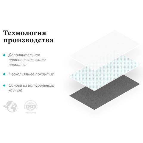 Коврик для йоги Лоскутный 183*61*1-3,5мм из микрофибры и каучука